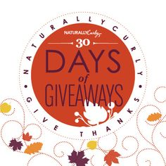 I just entered NC Giving Thanks November Giveaway 2014 to win some amazing curly hair prizes on NaturallyCurly.com! You should enter too. It's easy, click here: http://www.naturallycurly.com/giveaways/NC-November-Giveaway-2014/st/5467152a219b54.92414917