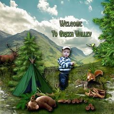Green Valley, Welcome, Scrap, Designers, Kitty, Boutique, Digital, Store, Movie Posters