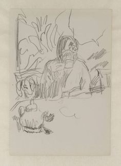 Pierre Bonnard 'Preparatory Sketch for 'Coffee'', 1915 © ADAGP, Paris and DACS, London 2014