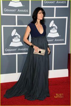 selma blair's pregnant style: a+