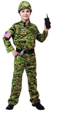 generic army inftry costume - Boys Army Halloween Costumes