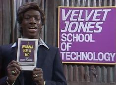 In this commercial parody, Velvet Jones (Eddie Murphy) promotes his book, I Wanna Be a Ho, that trains young women to make big money from the comfort of thei. Saturday Night Live, Eddie Murphy Snl, Snl Characters, George Kennedy, Snl Skits, Funny As Hell, Best Tv, Funny People, Humor