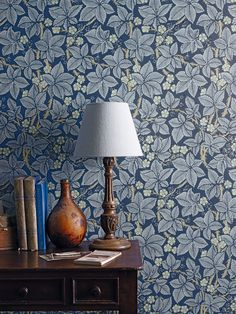 Morris & Co. Bramble Wallpaper Morris & Co. Bramble Wallpaper The post Morris & Co. Bramble Wallpaper appeared first on Sovrum Diy. Decor, Morris Wallpapers, Romantic Wallpaper, Arts And Crafts House, William Morris Wallpaper, William Morris Designs, Wallpaper Canada, Blue Wallpapers, Designer Wallpaper