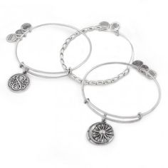 Alex and Ani Positive Balance Bangle Stack