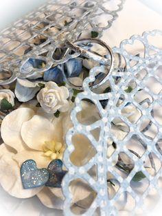 .......paper-fun-creating........: Bryllupskort i blåtoner