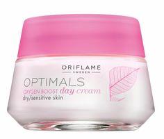 Denní krém pro suchou/citlivou pleť Optimals Oxygen Boost Oriflame