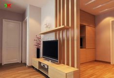 Living Room Partition, Modern Tv Wall Units, House Design, Living Room Decor Apartment, Living Room Designs, Room Partition Designs, Apartment Living Room, Tv Unit Interior Design, Walls Room