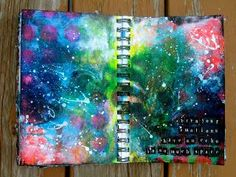 Image result for art journal space