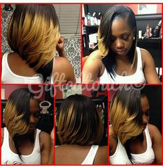 Bob Life on Pinterest | Natural Hair Blowout, Bobs and Weave