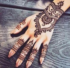 henna | indian | hand & wrist