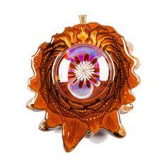 Phoenix Orchid Glass   Third Eye Pinecones
