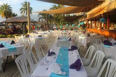 Beautiful set-up on our sundeck @ #smugglerscovefiji