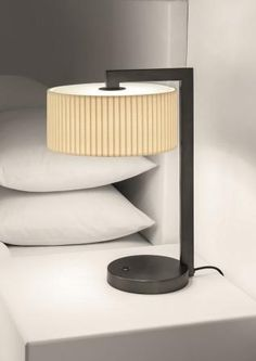Our Chicago Table Lamp finished in Black Bronze