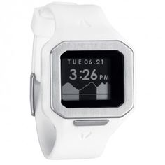 0e13bc5f6a4  Nixon Mens Watch The  Supertide White hubby got this for Christmas last  year! Relógios Para Homens