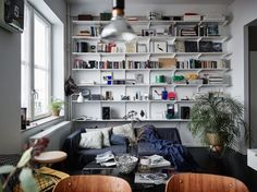 Another dreamy Swedish apartment for a proper end of the week