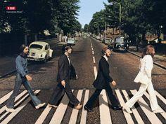 The Beatles Crossing Abbey Road Walk, Canvas Wall Art Beatles Abbey Road, Foto Beatles, Beatles Band, Beatles Songs, John Lennon, Ringo Starr, George Harrison, Rock And Roll, Liverpool