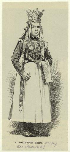 A Nordfjord bride.