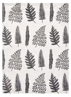 Fern Print Tea Towel - This is too cute! RM