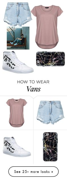 """""""Selfies and Kisses"""" by emma-marais on Polyvore featuring Nobody Denim, Avery and Vans"""