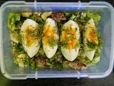 bento,posilek do pracy,sniadanie do pracy,lunchbox Bento, Polish Recipes, Fresh Rolls, Healthy Eating, Healthy Food, Zucchini, Lunch Box, Health Fitness, Food And Drink