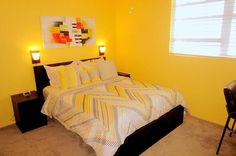 """2nd bedroom (The Yellow Room) - Key West Top Floor Condo """"Seaside Breeze"""" -Monthly -  - rentals"""