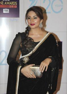 Huma Qureshi at Zee Cine Awards 2013.