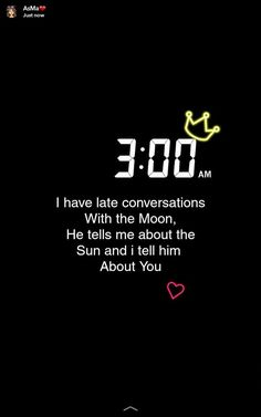 I have late conversations with the moon, he tells . - # tells . - I have late conversations with the moon, he tells … – - Late Night Quotes, Good Night Quotes, Snapchat Captions, Snapchat Quotes, Mood Quotes, Crush Quotes, Dream Quotes, Snap Quotes, Funny Quotes