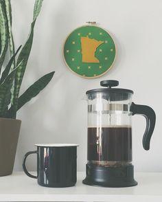 It's that time of day.... #fika #coffeebreak #dailygrind #vsco #vscocam #minnesota #frenchpress by ekbankson