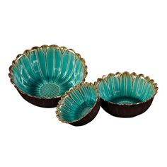 I pinned this Howard Elliott 3 Piece Blossom Bowl Set from the Finer Things event at Joss and Main!