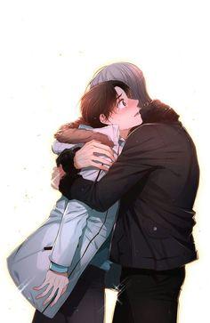 A man like you Yaoi Shounen Ai Romance Hug Manhwa Manga Anime Love Bl Comics, Manga Comics, Fan Fiction, Anime Couples Manga, Anime Guys, Anime Bl, Manga Rock, Photo Editing Vsco, A Guy Like You