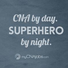 Working as a Caregiver / CNA - #job.  Thanks for all you do from www.myCNAjobs.com