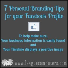 7 Personal Branding Tips for your Facebook Profile
