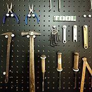 My Shelf,DIY,工具,有孔ボード,オイルフィニッシュ,ブライワックス ジャコビアンに関連する他の写真