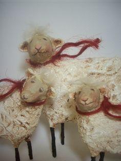Primitive Sheep Trio