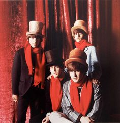 Photo used for The Beatles' 1965 Fan Club Christmas Record by Jerry Schatzberg.