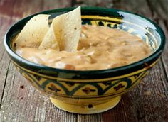 Hot Mexican Cheese Dip - Framed Cooks