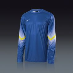 f790ea460 Nike Long Sleeve Goleiro Goalkeeper Jersey