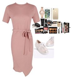"""Untitled #3501"" by veronicaptr ❤ liked on Polyvore featuring Boohoo, Michael Kors, NARS Cosmetics, Bobbi Brown Cosmetics, Maybelline, Smashbox, Anastasia Beverly Hills, Benefit and Bourjois"