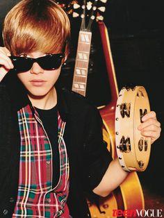 "Justin Bieber na ""Teen Vogue"" fotografado por Alasdair McLellan"