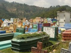 Chichicastenago. Cemetery. Guatemala.