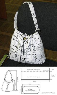 手藝星園地 Craft Stars: 包包紙型示意圖-3