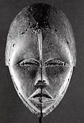 The border between Cote d'Ivoire and Liberia cuts across several ethnic groups, including the Dan, Wee, Kran, and Grebo. In Dan society, dangerous immaterial forest spirits are translated into the forms of human face masks