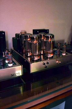 Prototype 125 watt monoblock tube amplifier KIT