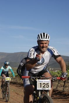 Rider on route at the Ride2Nowhere 2014, www.ride2nowhere.co.za