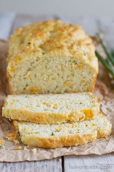 Peppery Cheese Bread - yummy with soup!