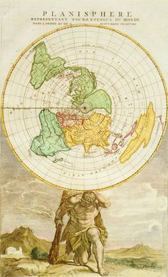 Birkhall's Miscellany: Flat Earth: The History of the Ball Part VII - Cool Maps
