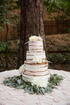 I loved this delicious cake at a Steve and Andreas Deer Park Villa wedding.