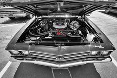 Chevelle SS Engine