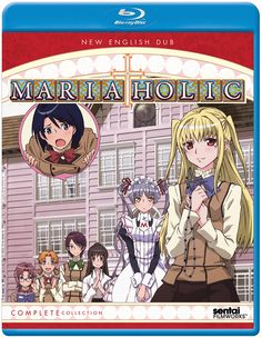 Maria-Holic Blu-ray Complete Collection (Hyb) - Price: $27.99 #RightStuf2014.