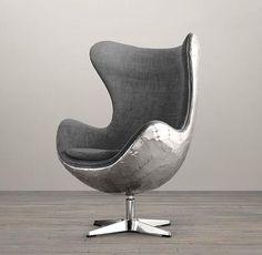 1950s Copenhagen Spitfire Upholstered Chair